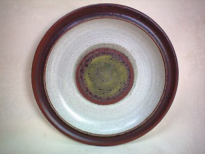 """Denby Potters Wheel Green Side Tea Plate 6.5"""" Several Available Very Good Cond"""