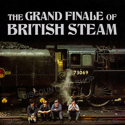 Little Book Of The Grand Finale Of British Steam. New Hardback Book