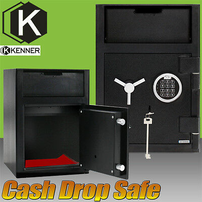 KENNER Premium Heavy Duty Deposit Cash Drop Safe