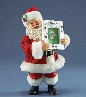 Fantastic Ornamental Father Christmas With Small Photo Frame Decoration