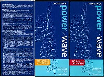 MATRIX POWER WAVE NORMAL to RESISTANT / SENSITIZED to NORMAL PERM LOTION