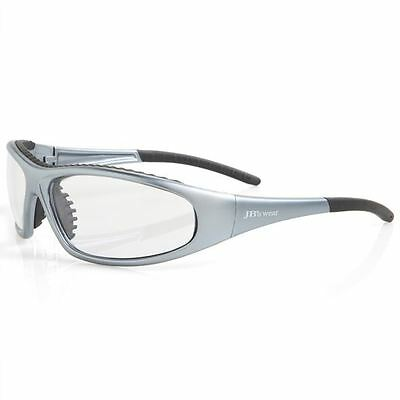 3 Pack Safety Glasses Wrap Around  Aus Safety Standards Specs Clear