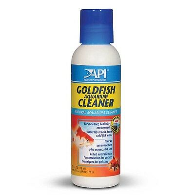 Api Goldfish Aquarium Cleaner Breaks Down Fish Waste For Cleaner Aquarium 118Ml