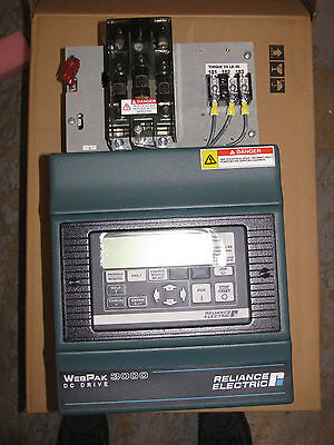 New Reliance Electric 5 HP DC Drive 5WR4012