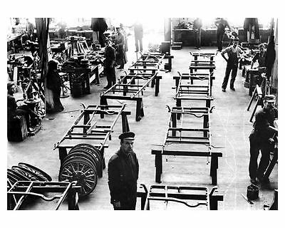 1908 1910 ? Packard Assembly Plant Factory Photo c9192