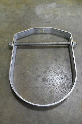 """Nos No Name 10"""" Stainless Steel S/s T-304 Clevis Type Adjustable Pipe Hanger"""