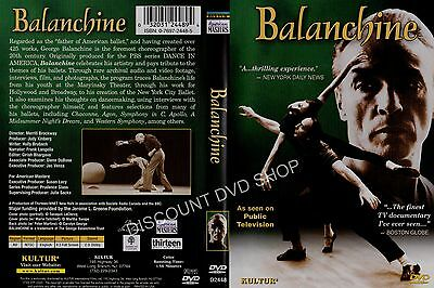 Balanchine - Father Of The American Ballet. New DVD