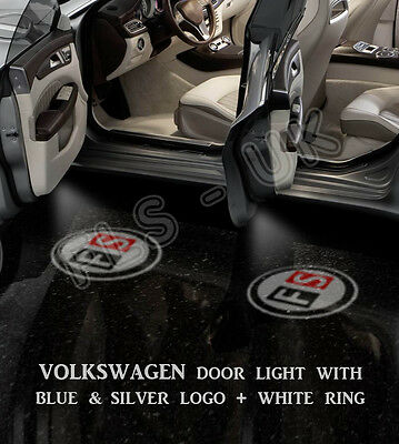 Cree Led Car Logo Ghost Shadowdoor Light Lamp For Volkwagen Vw 2 Bulb - Gsl006