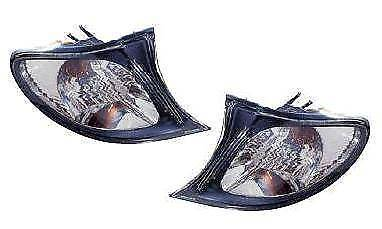 BMW 3 Series E46 4 Door 2001-2005 Clear Front Indicator Pair Left & Right