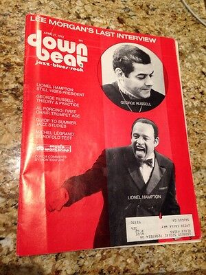 Down Beat April 27, 1972 George Russell And LionelHampton