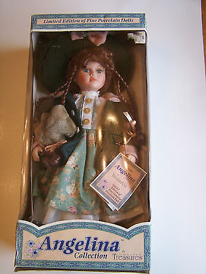 ANGELINA COLLECTION PORCELAIN DOLL BY TIMELESS TREASURES - ORIGINAL BOX - MATTEL