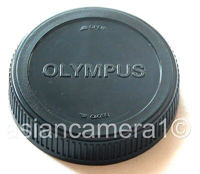 Rear Lens Cap For Olympus 4/3 E Series Back Dust Cover Twist-on
