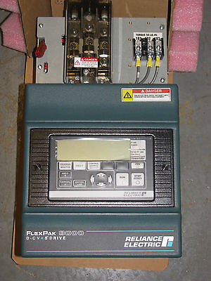 New Reliance Electric 10 HP DC Drive - Model # 10WR4012