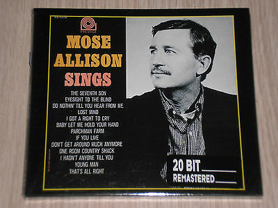 MOSE ALLISON SINGS THE 7th SON - CD DIGIPAK SIGILLATO (SEALED)