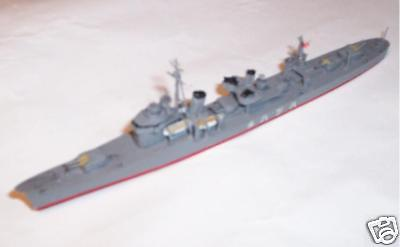 1:700 IJN Destroyer Ship Model Kit Building Service