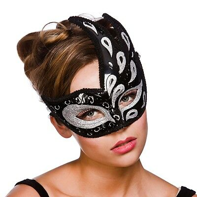 Ladies Masquerade Mask Baroque Ball Mask Fancy Dress Costume Accessories 16BS