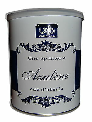 BES FRANCE - POT 800 ml CIRE à EPILER JETABLE - EPILATION, spatules, bandes