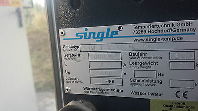 Single Temperiertechnik Pressurized Controlled Water Heater