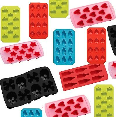 Non Stick Ice Cube trays Chocolate Jelly Sweet Candy Maker Moulds Trays