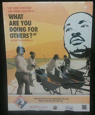 Martin Luther King Jr Poster Size 8 1/2 X 11, New!!!