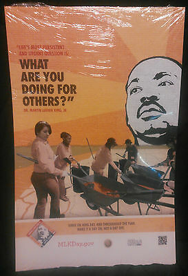 Martin Luther King Jr Poster Size 11 X 17, New!!!