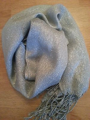 Plain Color Shiny Shimmer Glitter Sparkly Scarf Hijab Shawl Wrap Wedding  3for2