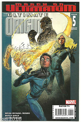 ULTIMATE ORIGINS #5 Limited to 1/10 FF variant by Alex Maleev! NM