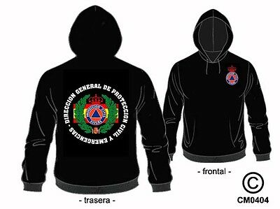 Sudaderas Emergencias: Direccion General De Proteccion Civil