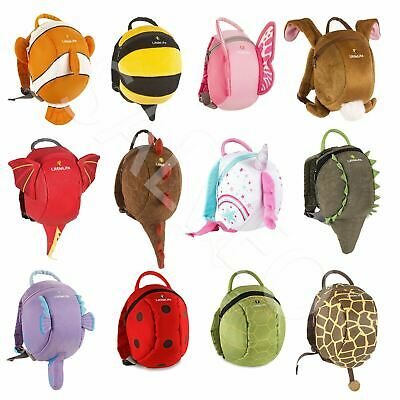 LittleLife Toddler Child Animal Daysack Backpack School Bag & Safety Reins