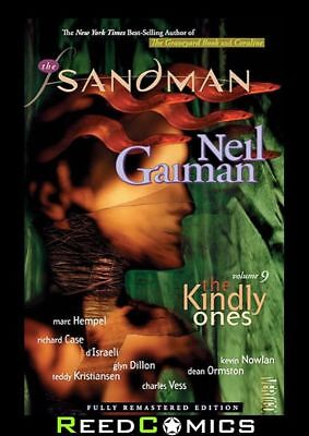 SANDMAN VOLUME 9 THE KINDLY ONES GRAPHIC NOVEL Paperback Collects Issues #57-69