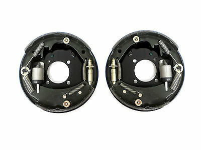 """Pair 3500 Hydraulic Backing Plate 10"""" x 2-1/4"""" Boat Trailer Complete Replacement"""