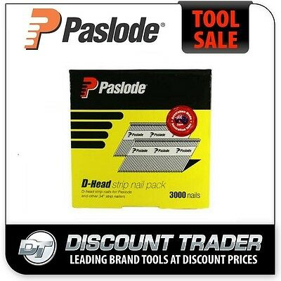 Paslode 50mm x 2.87mm Hot Dip Galvanised Diamond Point Pneumatic Nails - B20528D