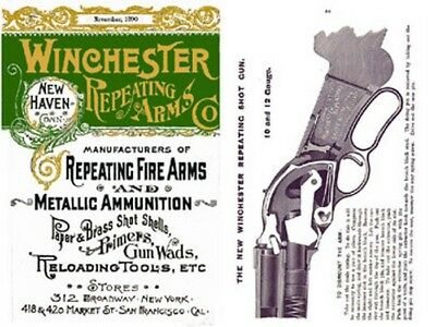 Winchester 1890 November- Repeating Arms Catalog