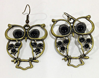 Wholesale Lot of Jewellery.117 Pieces of Bronze Earrings Mixed Styles