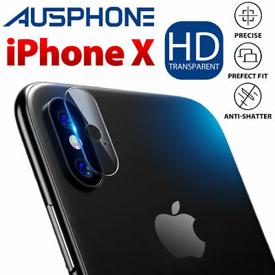 2x iPhone XS Max/ XS/ X Camera Lens Tempered Glass Screen Protector 9H For Apple