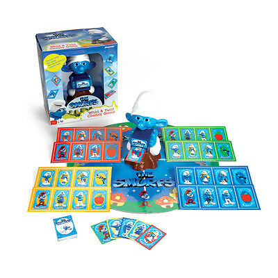 Pressman The Smurfs Whirl & Twirl Clumsy Game