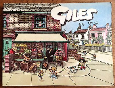 GILES ANNUAL - 28th SERIES (Paperback, 1974) Unclipped, Cartoon Collection