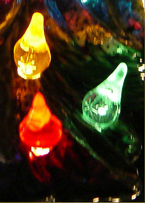 40 Starlight flame 8 equal colors mix Twinkle bulb Ceramic Christmas tree twist