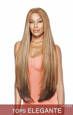 Tops Elegante - Vanessa Synthetic Lace Wig Express Super Long Straight