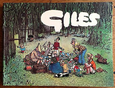 GILES ANNUAL - 27th SERIES (Paperback, 1973) Unclipped, Cartoon Collection