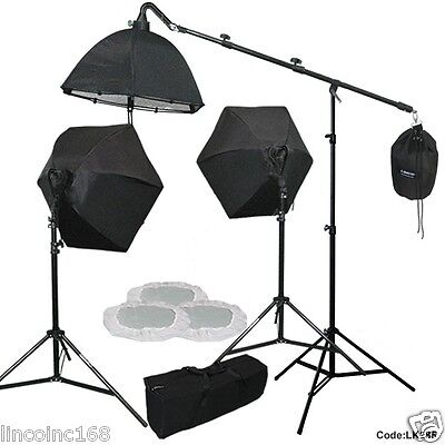 Photo Equipment Studio Video Light Lamp Studio Boom Light Stand Photography Kits