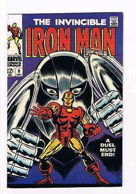 Iron Man # 8  A Duel must End !  grade 7.5 movie scarce hot book !!