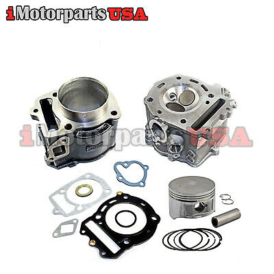 Top End Engine Cylinder Rebuild Kit For Honda Ch250 Helix Cn250 Scooter