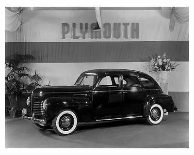 1940 Plymouth Factory Photo ca0008