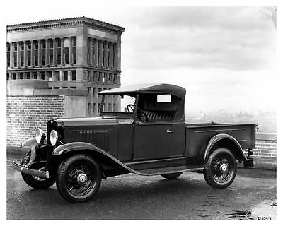 1932 Chevrolet Pickup Truck Factory Photo ca0065