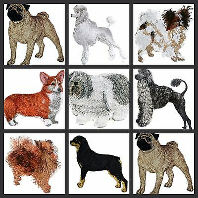 Beautiful Custom Dogs Embroidered Iron On Patches(P-R)