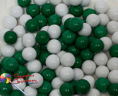PEPPERMINT CHOCOLATE DROPS -  400G -  (Green and White) Post Included