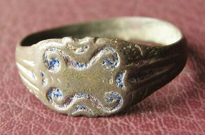 Antique Bronze RING > 19th to early 20th Century Sz: 12 US 21.25mm 11420
