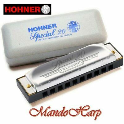 Hohner Harmonica - 560/20 Special 20 (KEY OF C) NEW