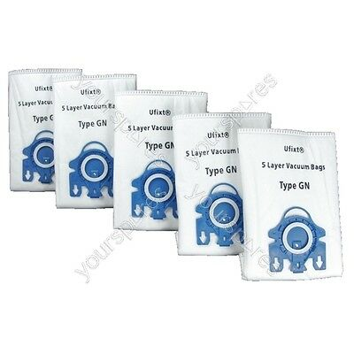 Miele GN Hoover Bags Pack Of 5 Bags + Filters *FREE DELIVERY*